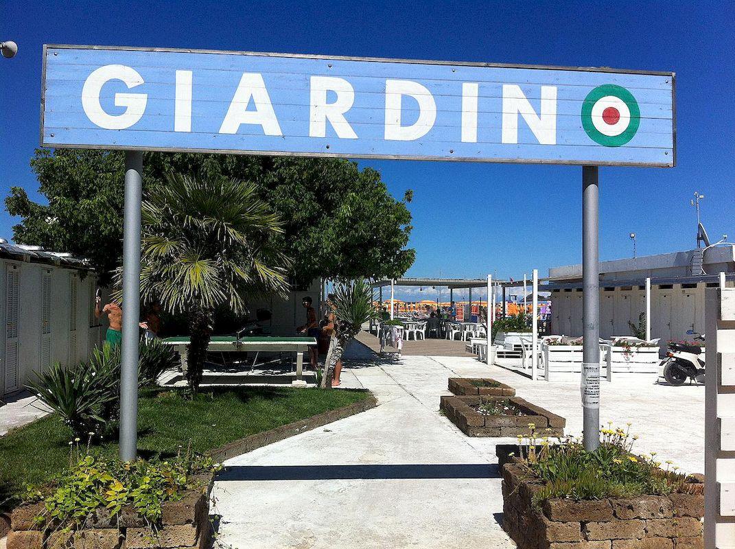 Cooperativa Bagnini Cervia 072 73 Bagno Giardino