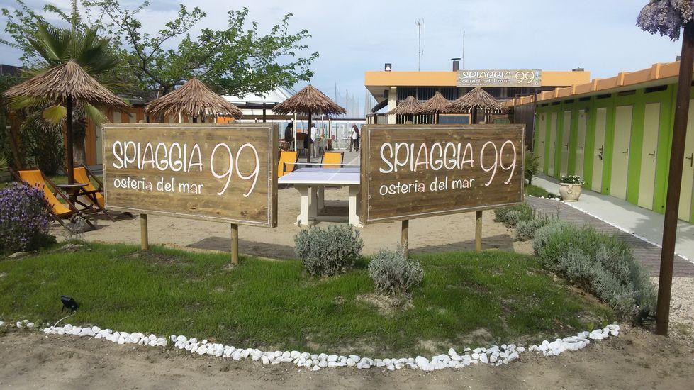 Cooperativa bagnini cervia 099 spiaggia 99 osteria del mar - Bagno palm beach pinarella ...